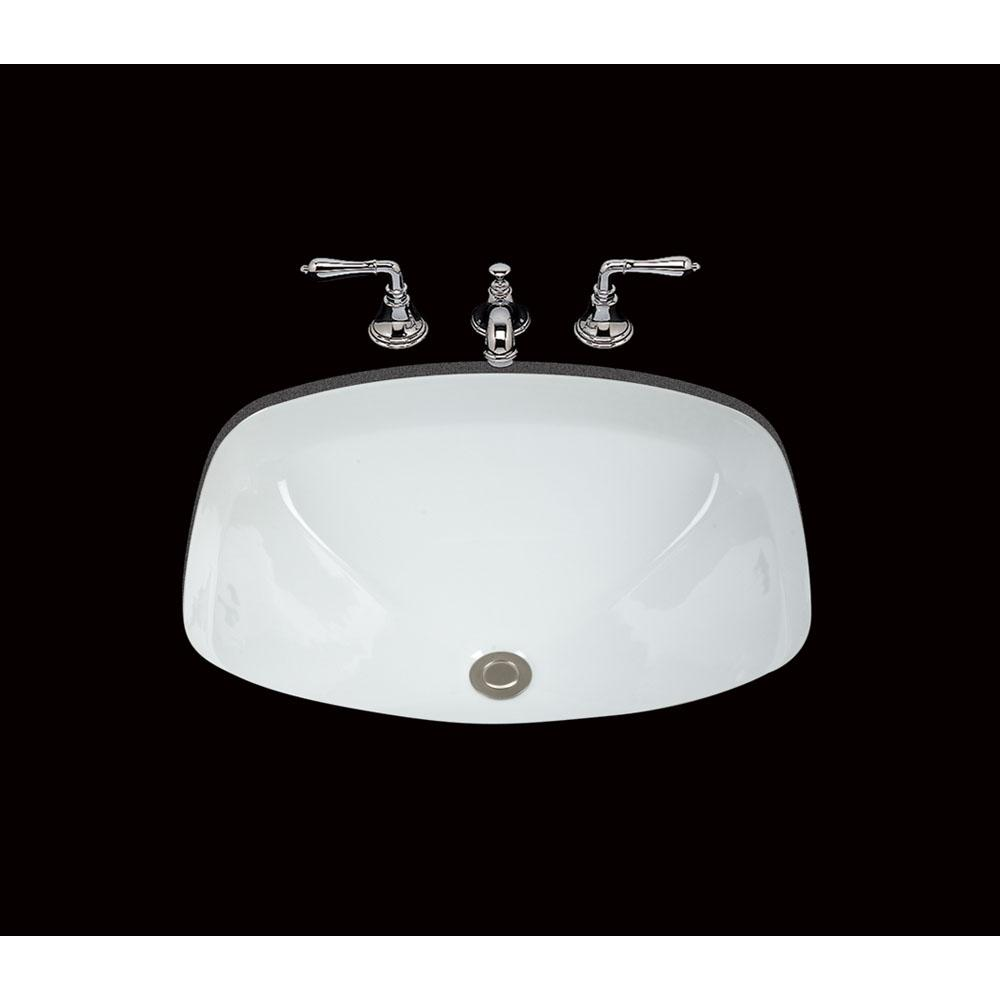 Bates And Bates Undermount Bathroom Sinks item P1619.U2.WH