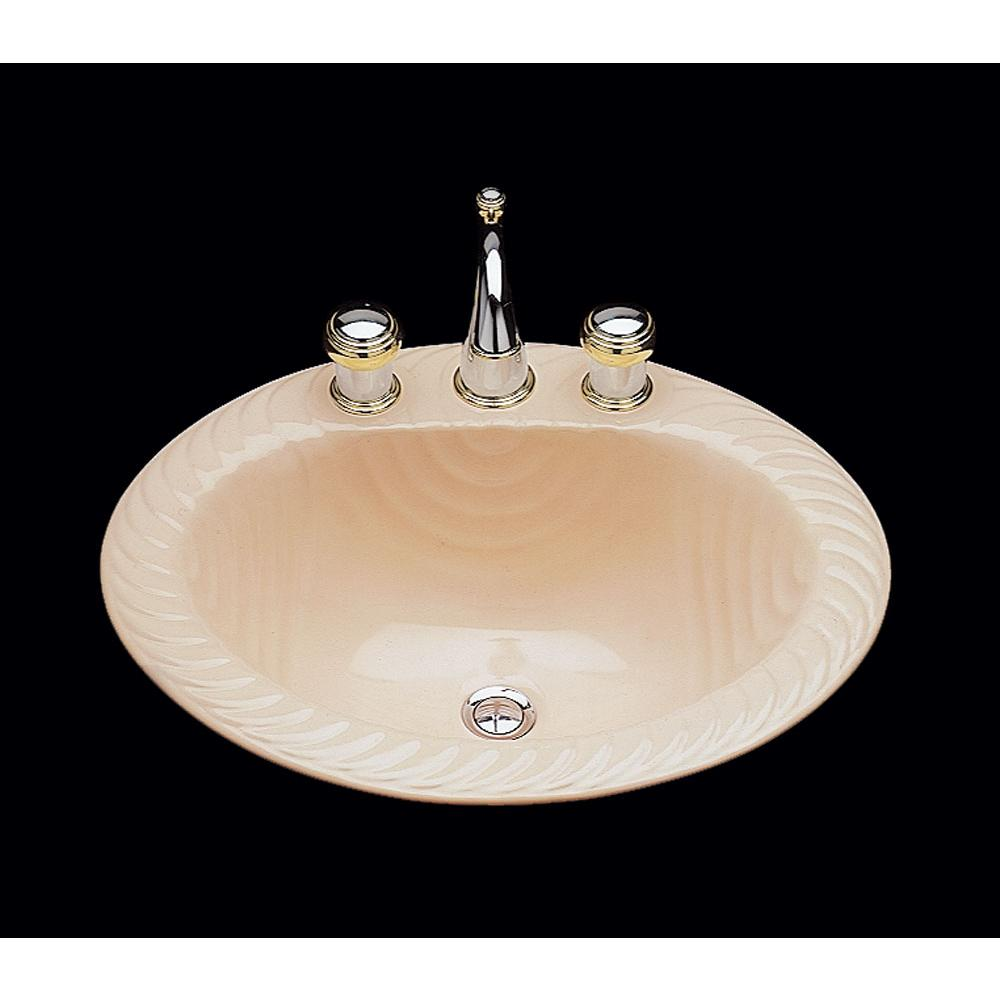 Bates And Bates Drop In Bathroom Sinks item P1821.D2.WH