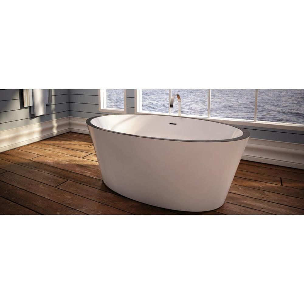 Bain Ultra Free Standing Soaking Tubs item CHARISM 6436 Oval Freestanding