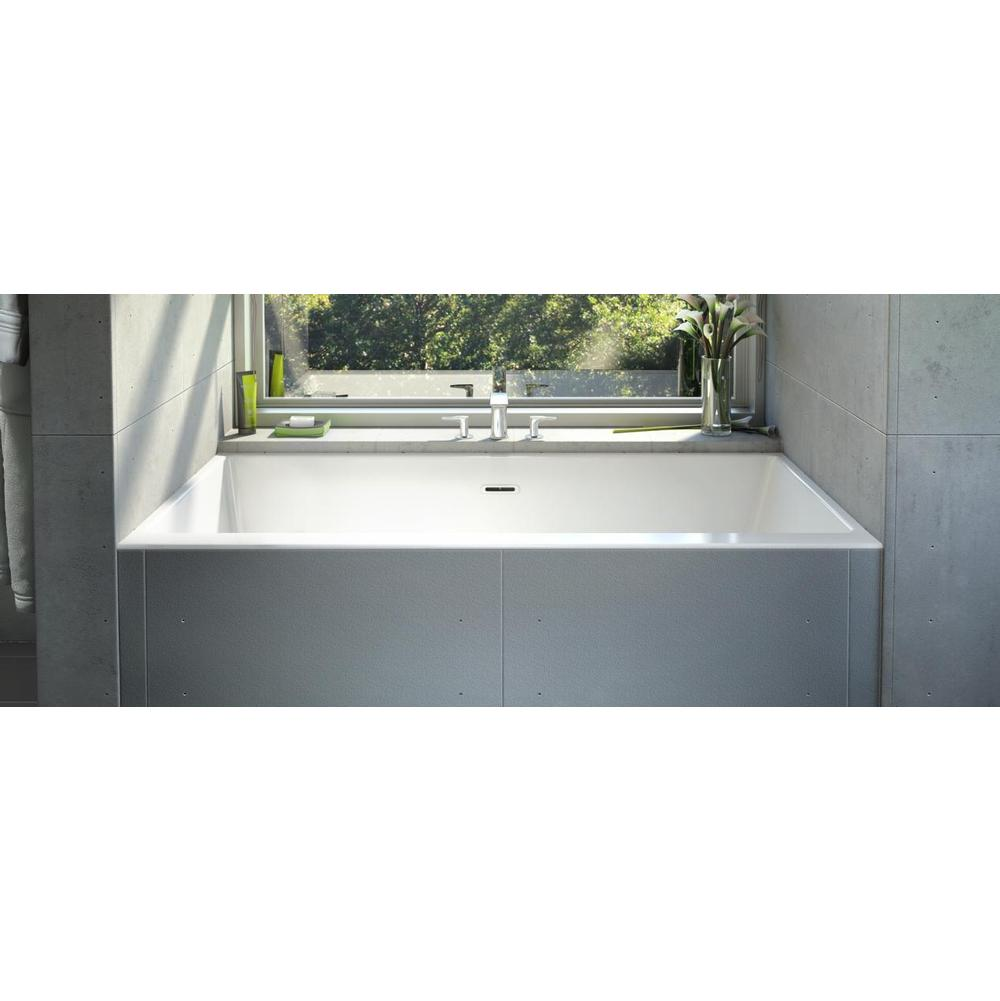 Bain Ultra Three Wall Alcove Soaking Tubs item CITTI 6032 TRIO with insert