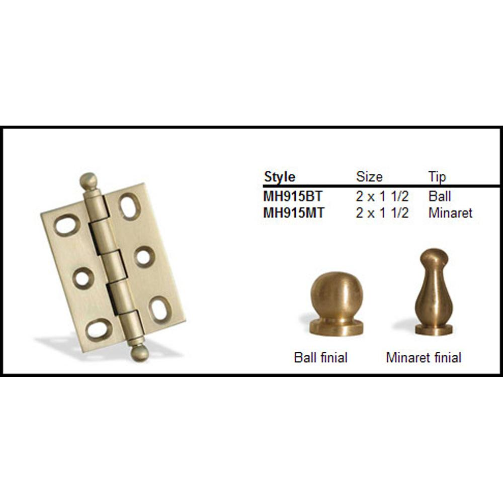 Colonial Bronze  Hinges item MH915BT-3A