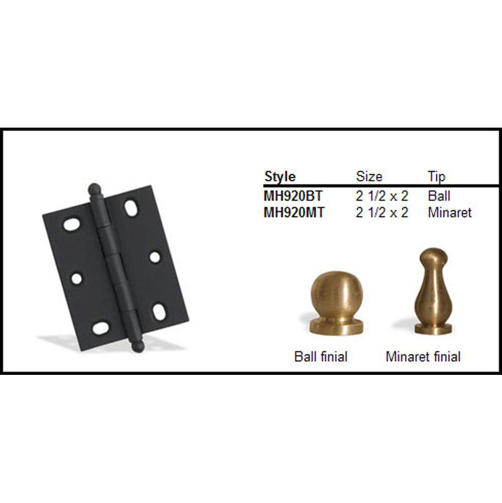 Colonial Bronze  Hinges item MH920BT-M10