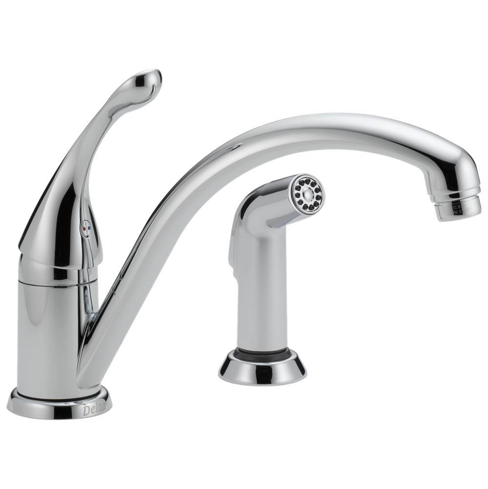 Delta Faucet Deck Mount Kitchen Faucets item 441-DST