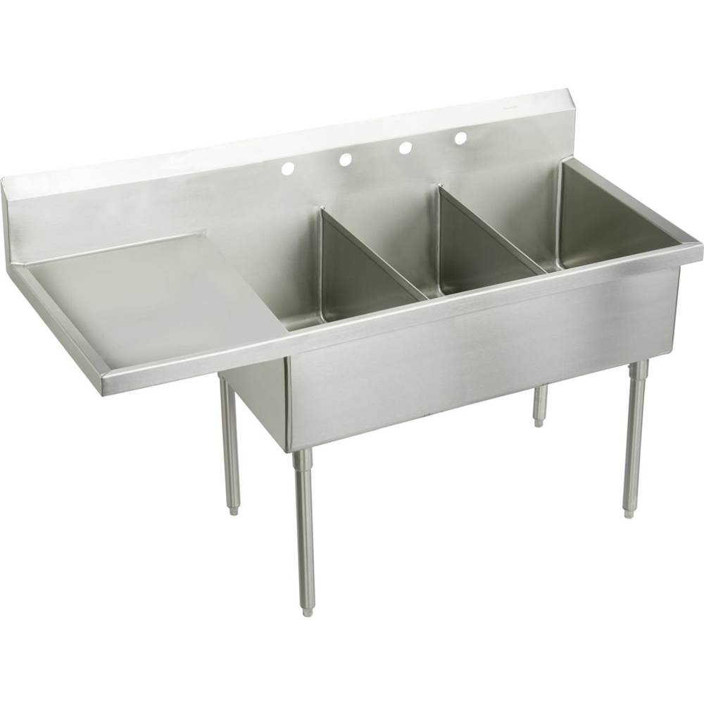 Elkay Console Laundry And Utility Sinks item SS8345L3