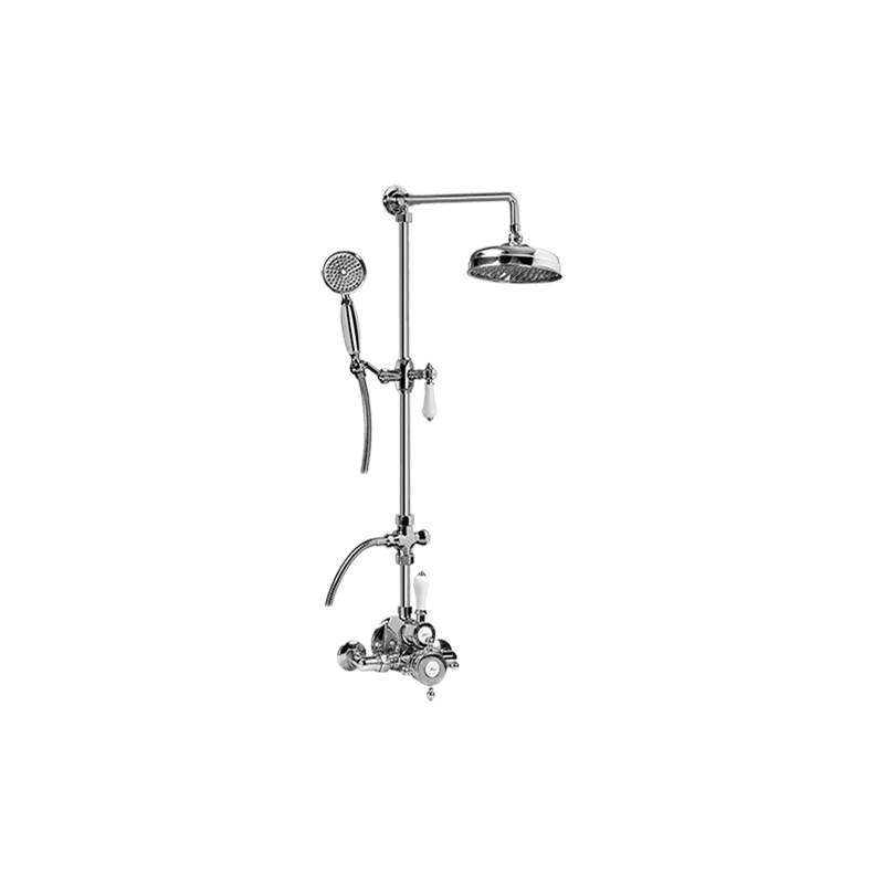Graff Complete Systems Shower Systems item CD2.12-LC1S-PC