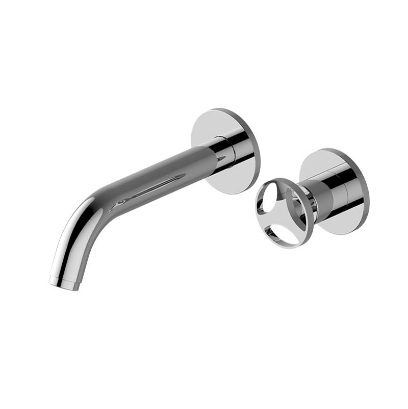 Graff Wall Mounted Bathroom Sink Faucets item G-11435-C19-PN/OX-T