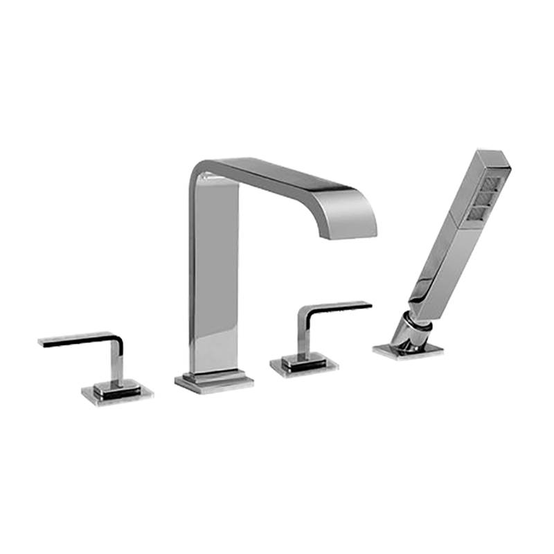 Graff  Roman Tub Faucets With Hand Showers item G-2356-LM40-SN