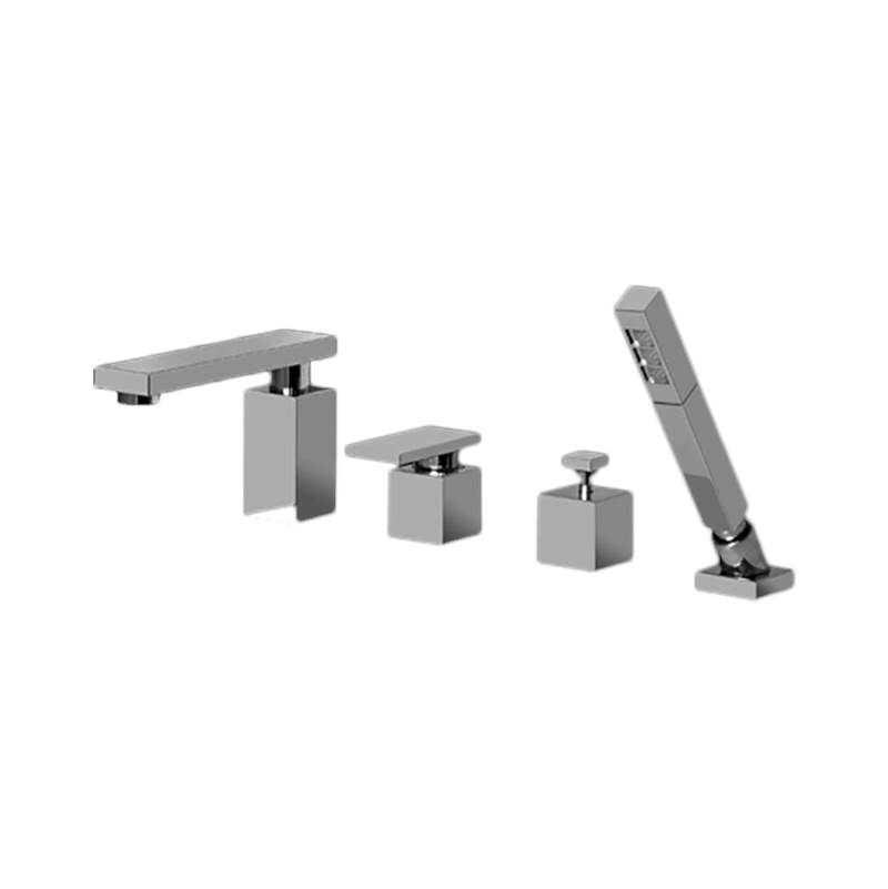 Graff  Roman Tub Faucets With Hand Showers item G-3751-LM31-SN