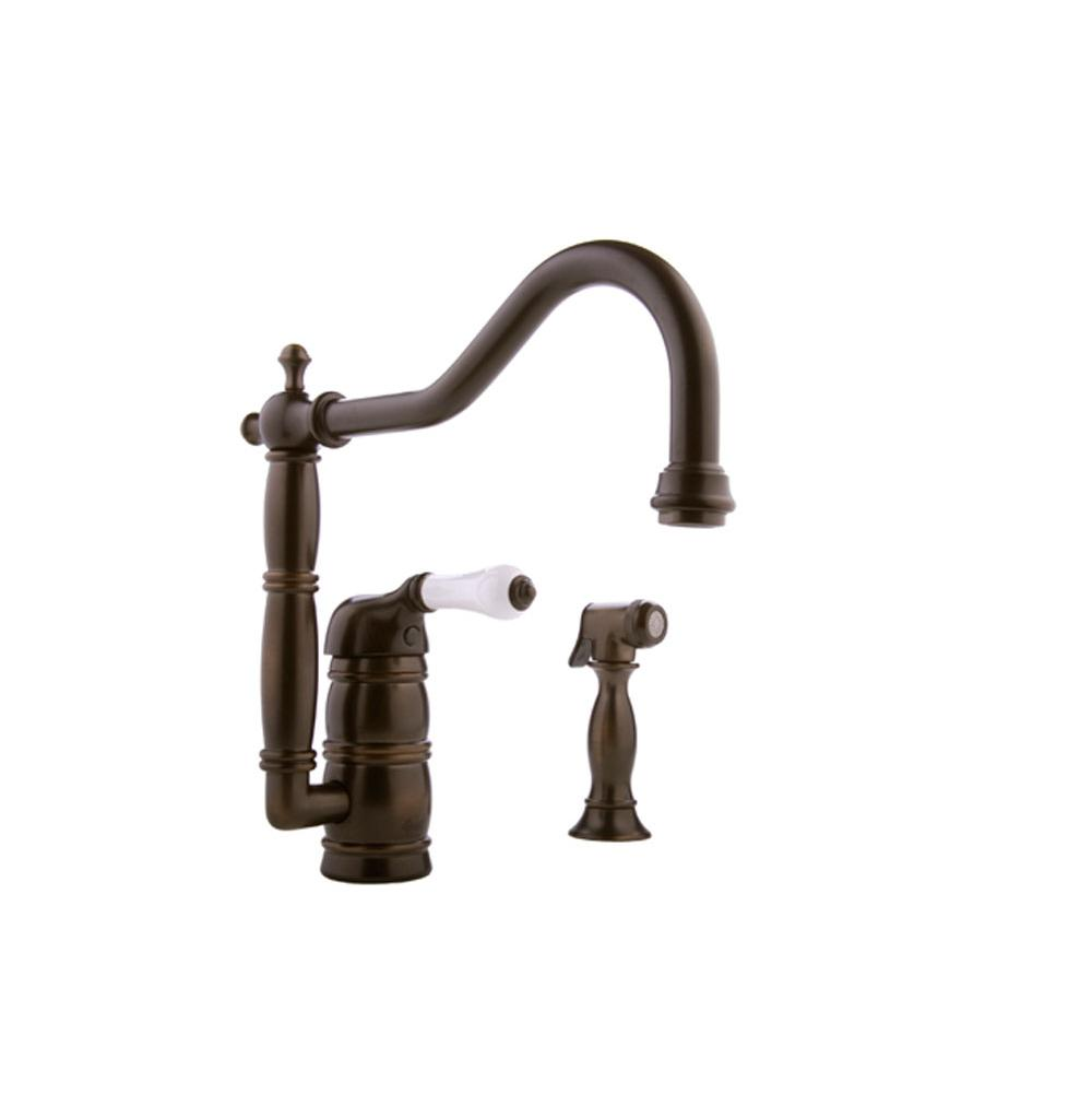Graff Deck Mount Kitchen Faucets item G-4855-LC3-OB