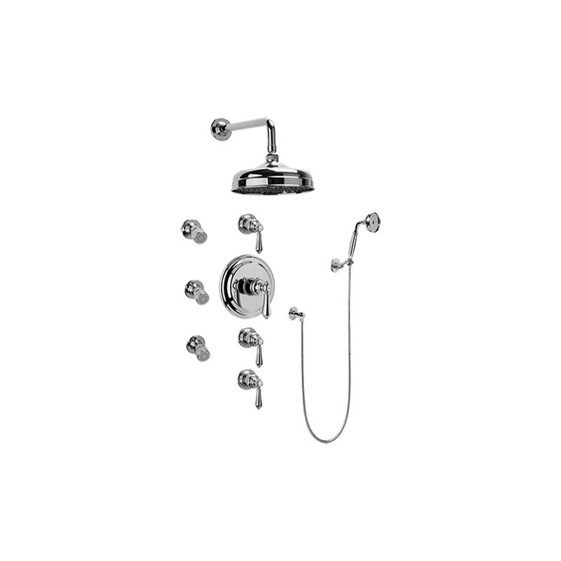Graff Complete Systems Shower Systems item GA1.222B-LM34S-SN