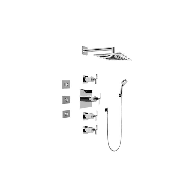 Graff Complete Systems Shower Systems item GC1.132A-C9S-PC-T