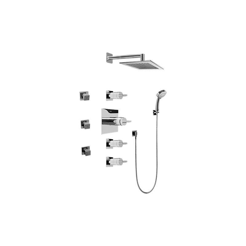 Graff Complete Systems Shower Systems item GC1.232A-C14S-SN-T