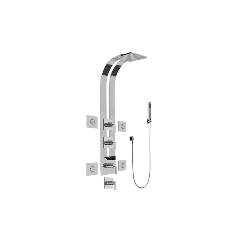 Graff Complete Systems Shower Systems item GE1.120A-LM40S-PC-T