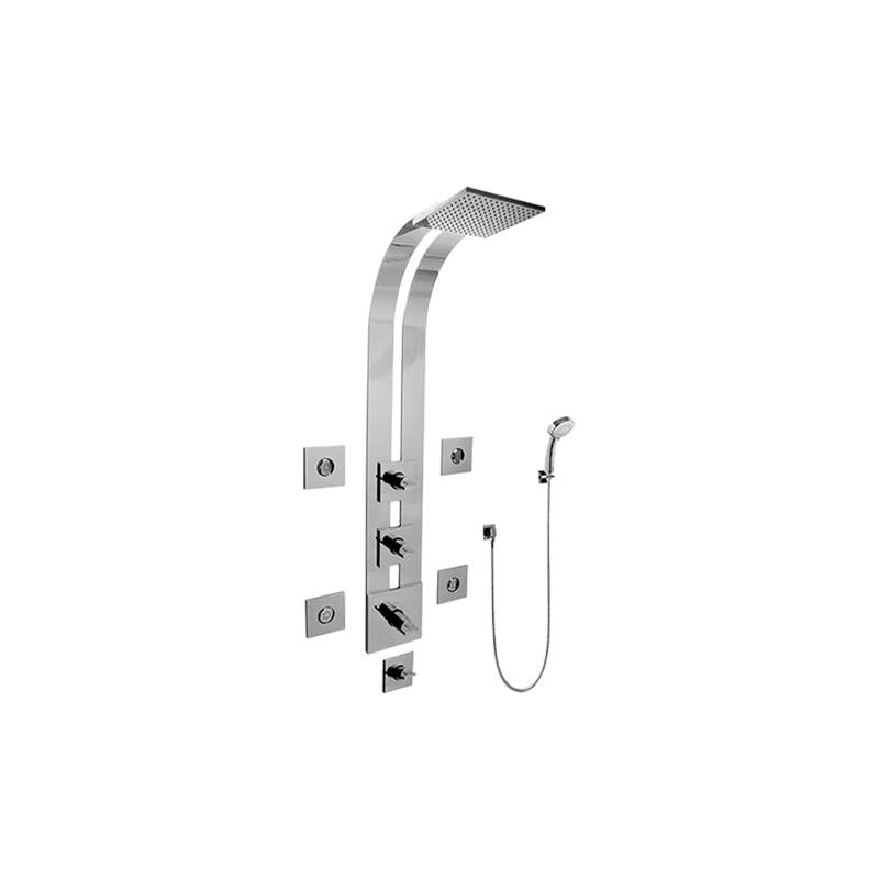 Graff Complete Systems Shower Systems item GE1.130A-C14S-PC-T