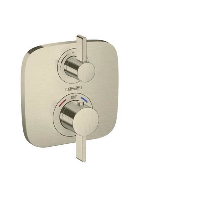 Hansgrohe Thermostatic Valve Trims With Integrated Diverter Shower Faucet Trims item 15708821