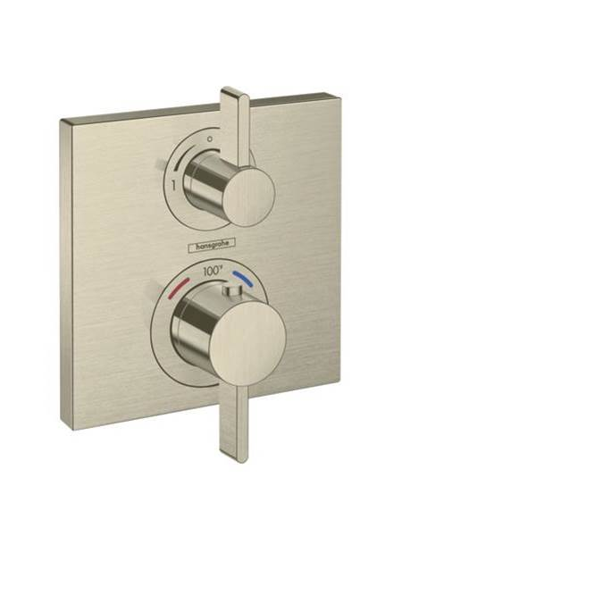 Hansgrohe Thermostatic Valve Trims With Integrated Diverter Shower Faucet Trims item 15714821