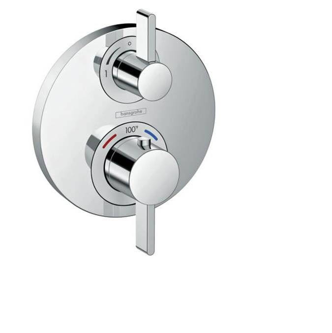 Hansgrohe Thermostatic Valve Trims With Integrated Diverter Shower Faucet Trims item 15758001