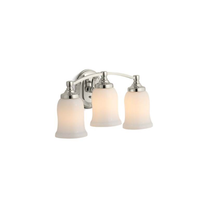 Kohler Three Light Vanity Bathroom Lights item 11423-SN