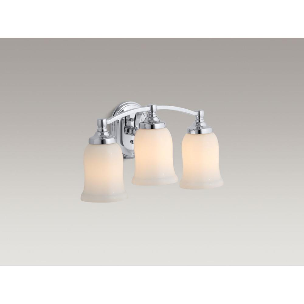 Kohler Three Light Vanity Bathroom Lights item 11423-2BZ