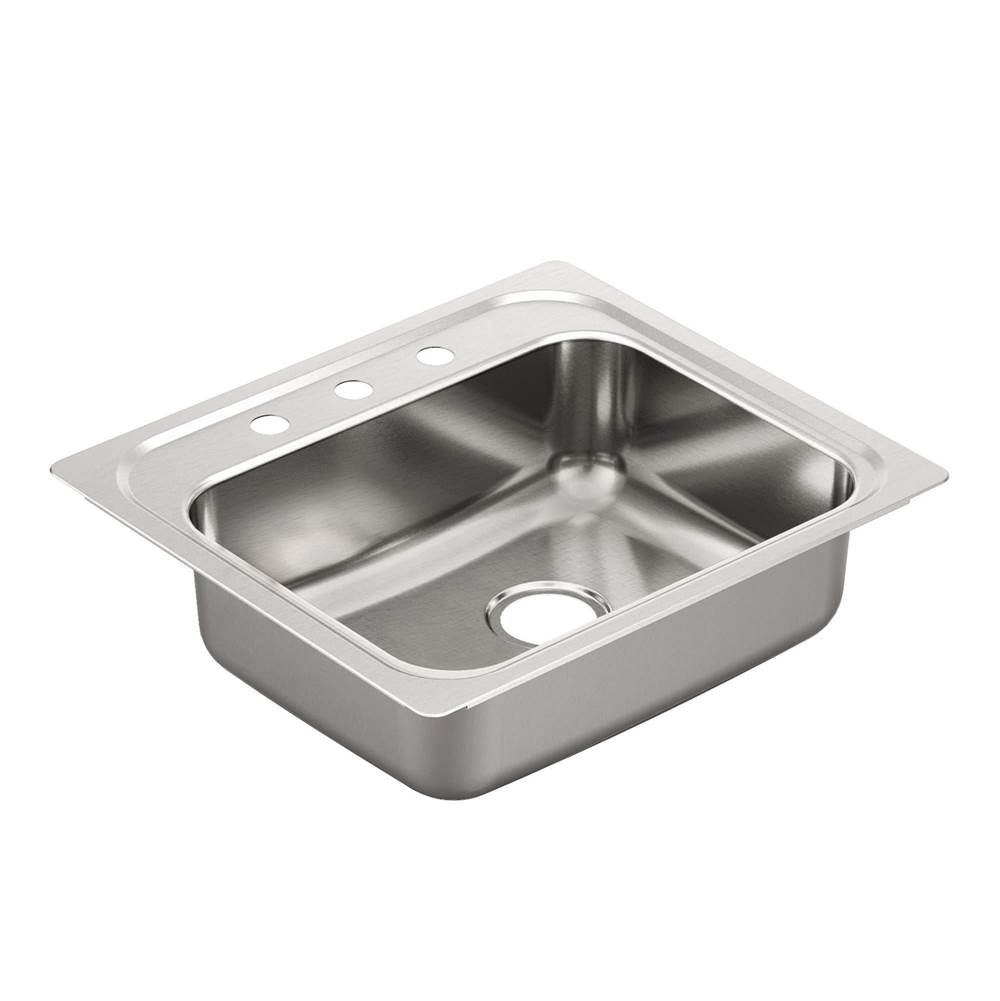 Moen Drop In Kitchen Sinks item GS201963Q