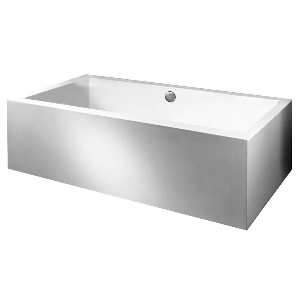MTI Baths Three Wall Alcove Air Bathtubs item AST108ASCULPT3