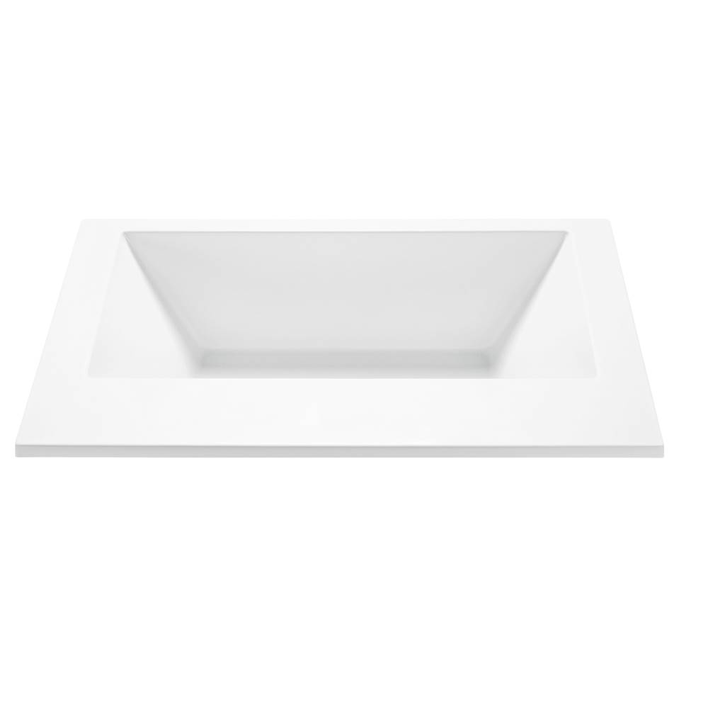 MTI Baths Undermount Soaking Tubs item S175-WH-UM