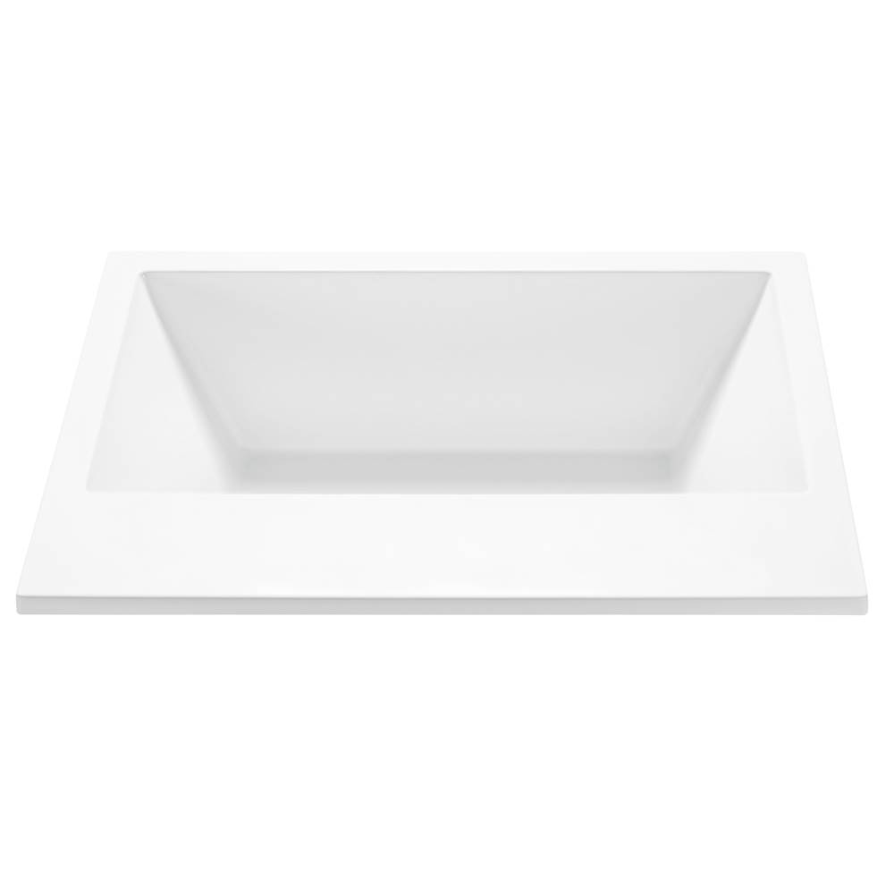 MTI Baths Drop In Air Bathtubs item AE84-WH-DI