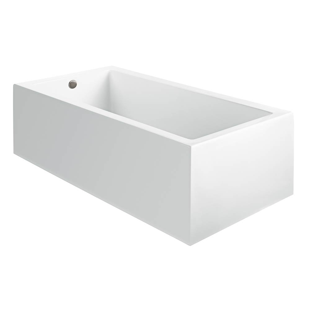 MTI Baths Three Wall Alcove Air Bathtubs item AST96ASCULPT3