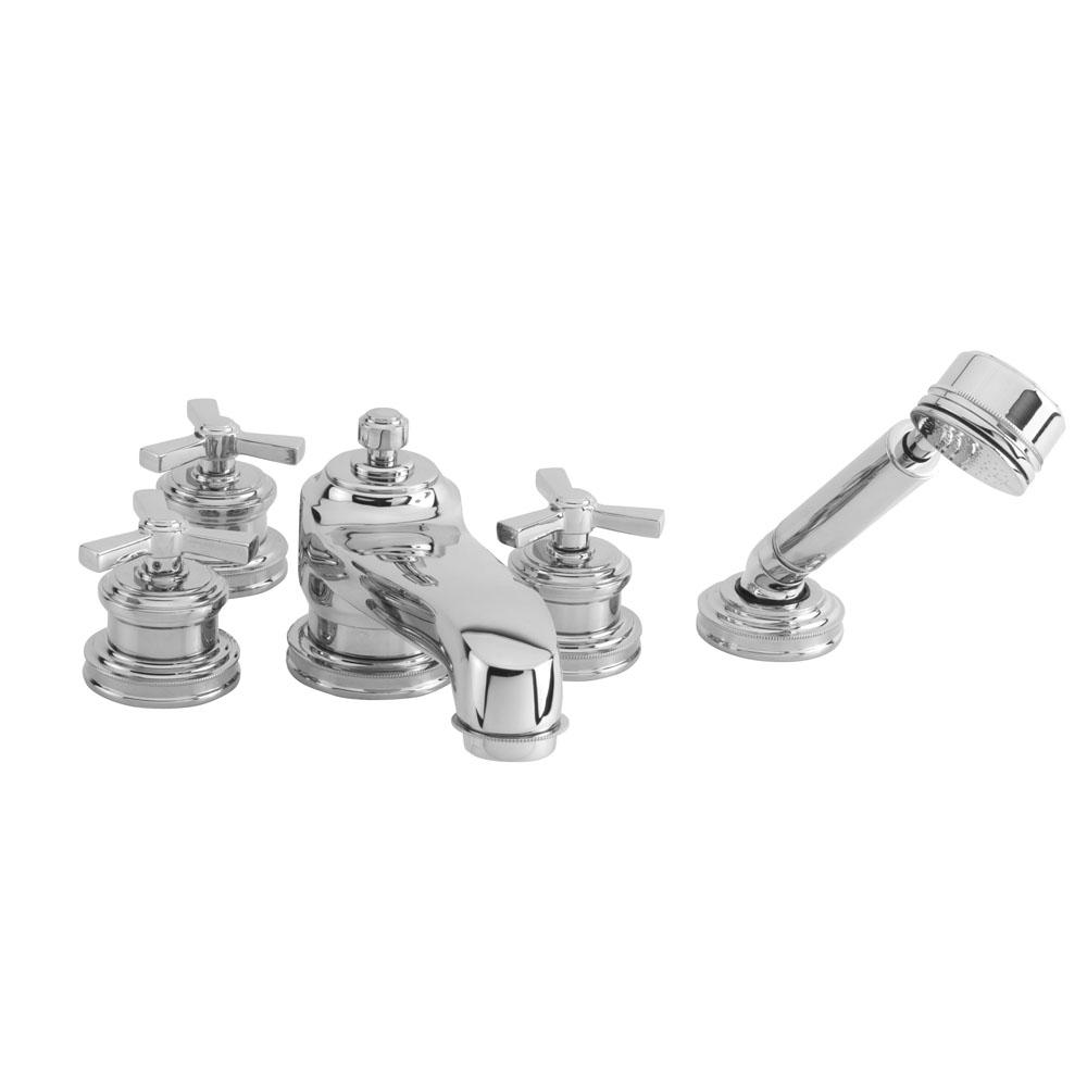 newport brass faucets brushed gold kitchen newport brass deck mount tub fillers item 3160720 faucets steel dallas north builders hardware inc