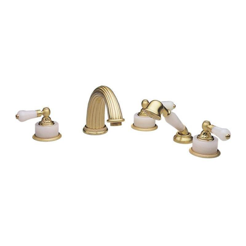 Phylrich Deck Mount Roman Tub Faucets With Hand Showers item K2243P1-041