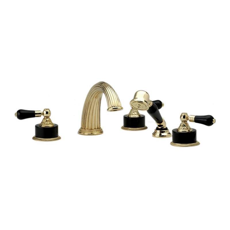 Phylrich Deck Mount Roman Tub Faucets With Hand Showers item K2244P1-SF2