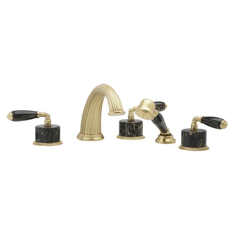 Phylrich Deck Mount Roman Tub Faucets With Hand Showers item K2338CP1-02