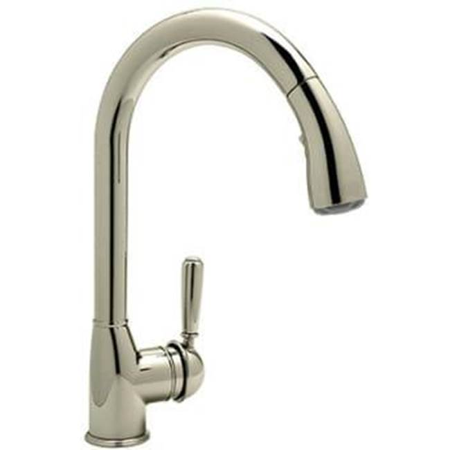 Rohl Deck Mount Kitchen Faucets item R7504LMSTN-2