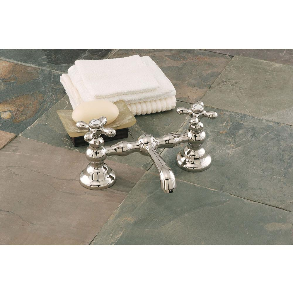 Sign Of The Crab Bridge Bathroom Sink Faucets item P0549-12N