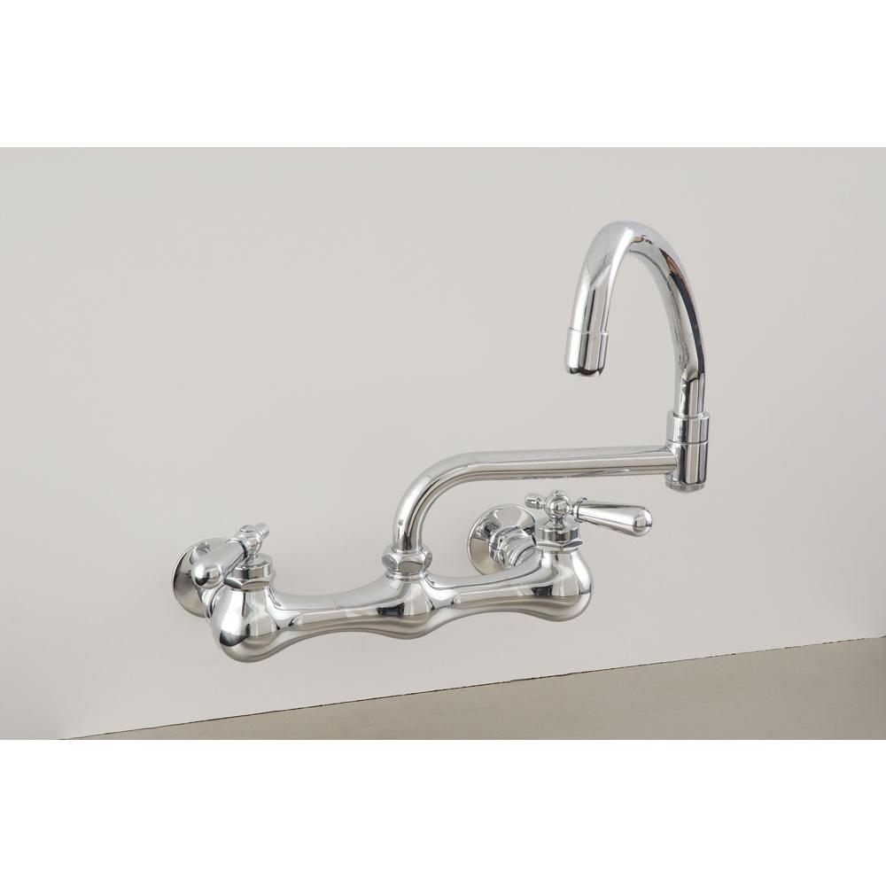 Sign Of The Crab Wall Mount Kitchen Faucets item P0830N