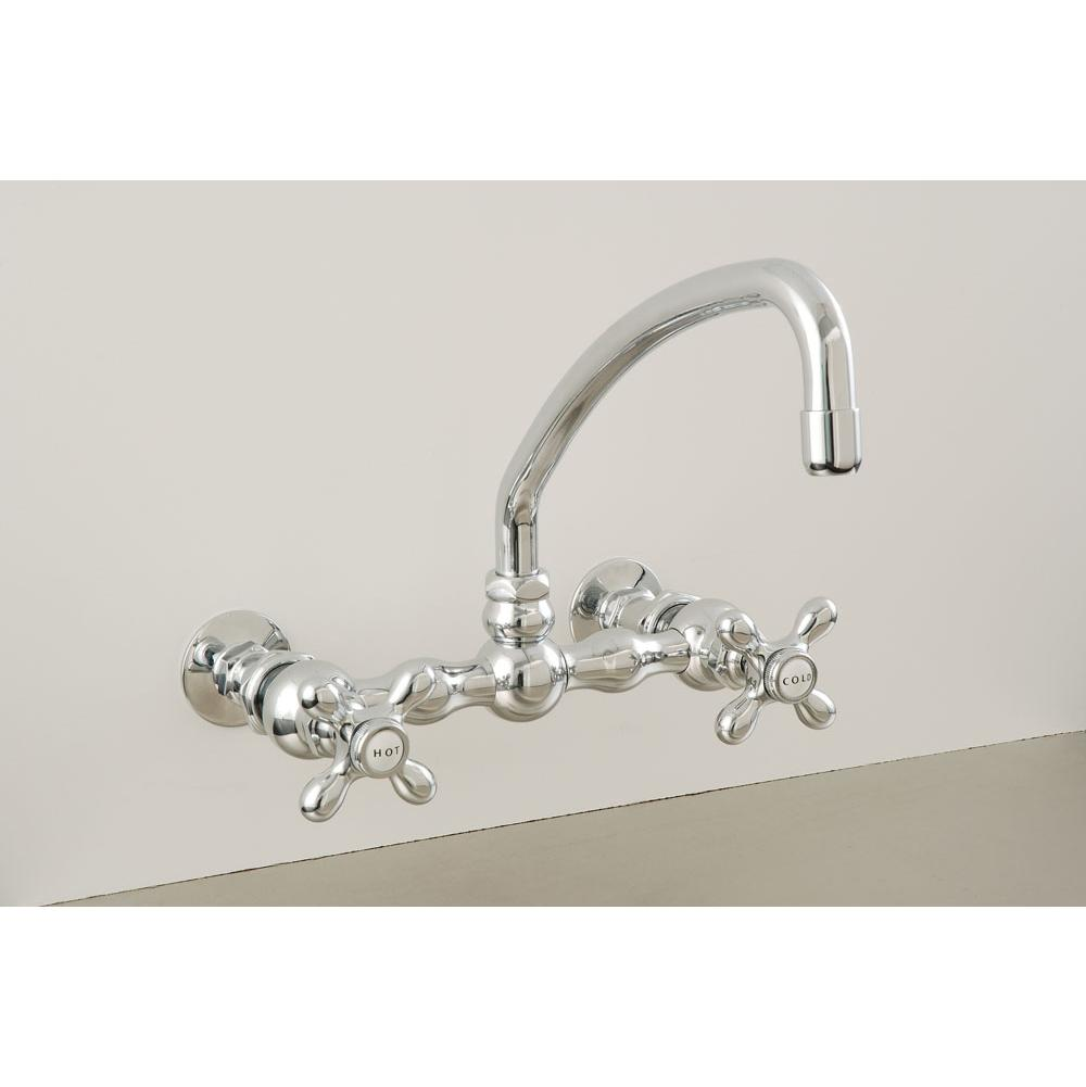 Sign Of The Crab Wall Mount Kitchen Faucets item P0836M