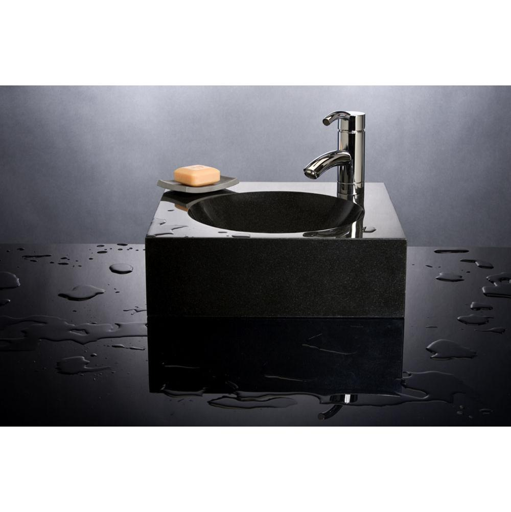 Stone Forest Vessel Bathroom Sinks item C55 BL