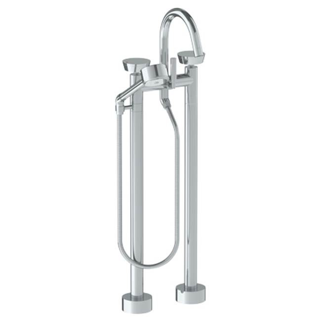 Watermark Floor Mount Tub Fillers item 36-8.3V-BL1-PN