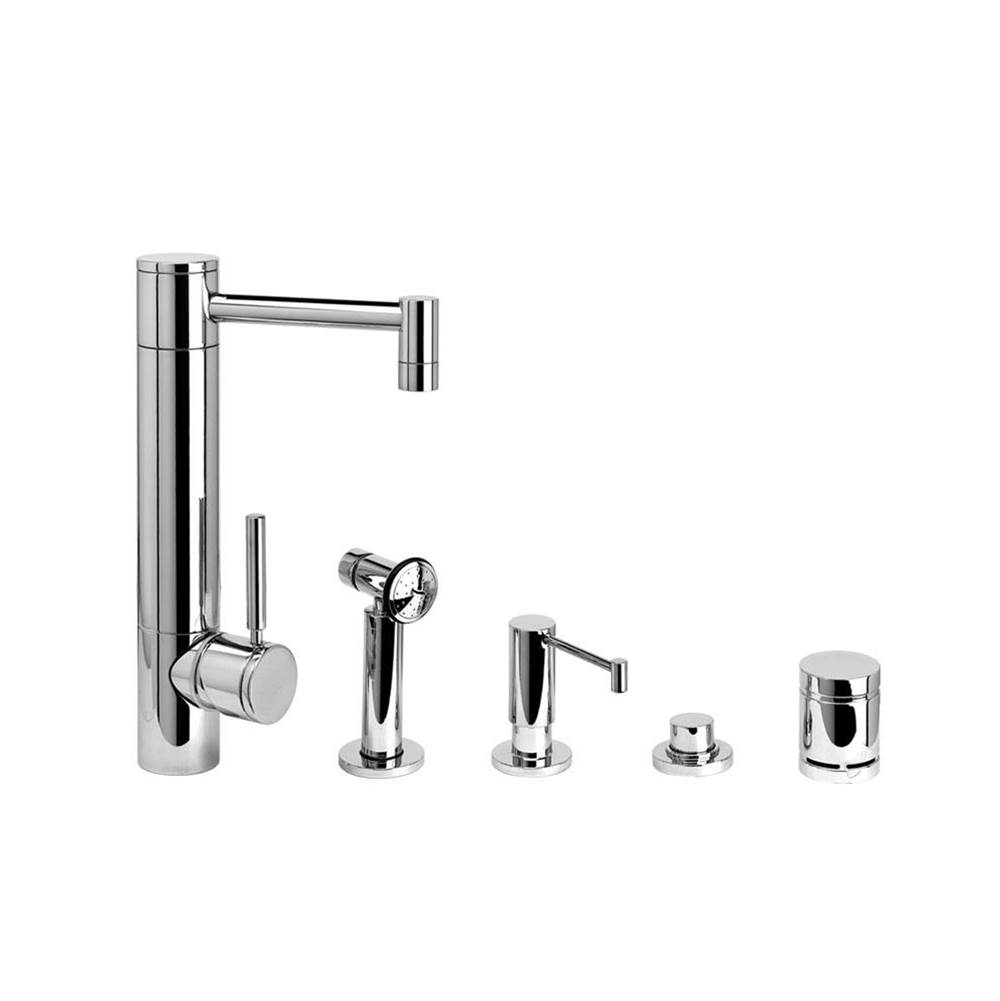 Waterstone Single Hole Kitchen Faucets item 3500-4-SG