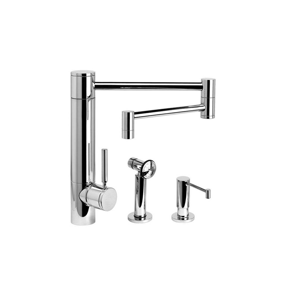 Waterstone Single Hole Kitchen Faucets item 3600-18-2-CB