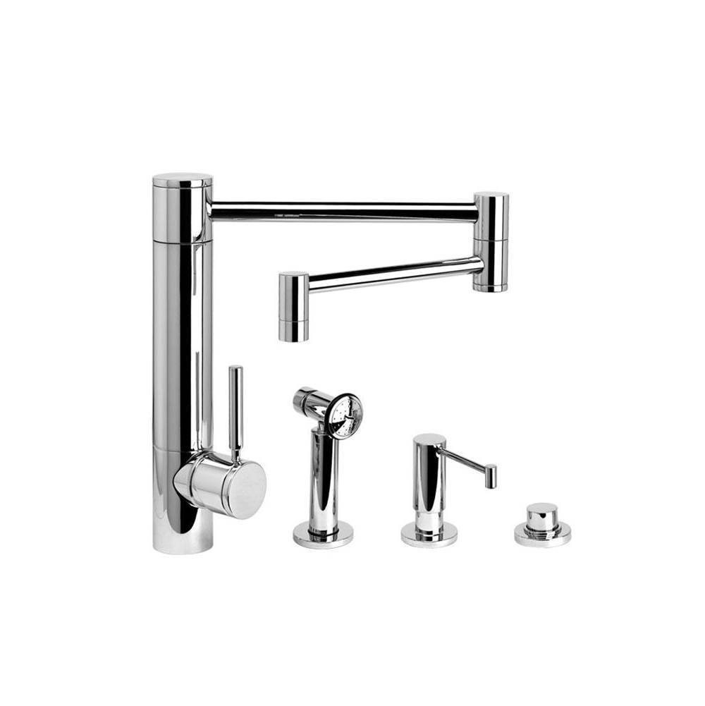 Waterstone Single Hole Kitchen Faucets item 3600-18-3-DAC