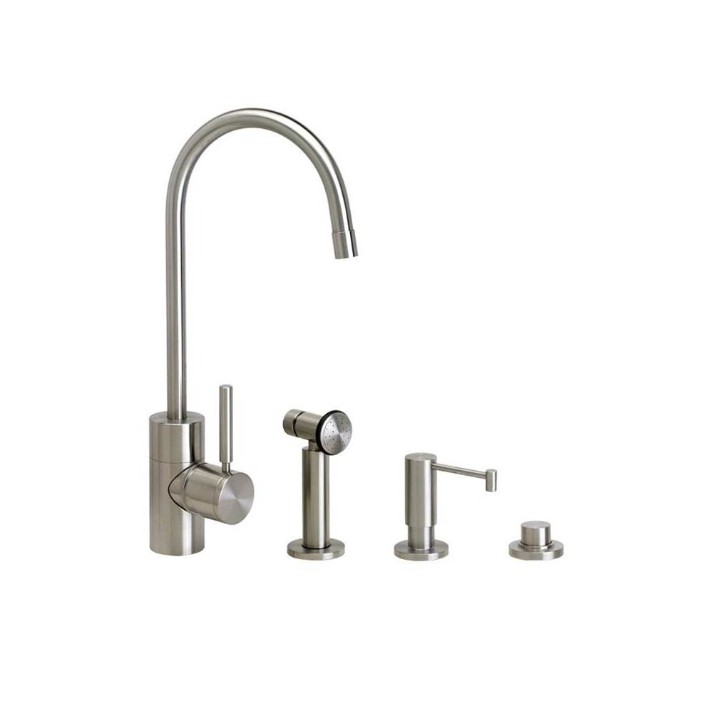 Waterstone Single Hole Kitchen Faucets item 3900-3-BLN
