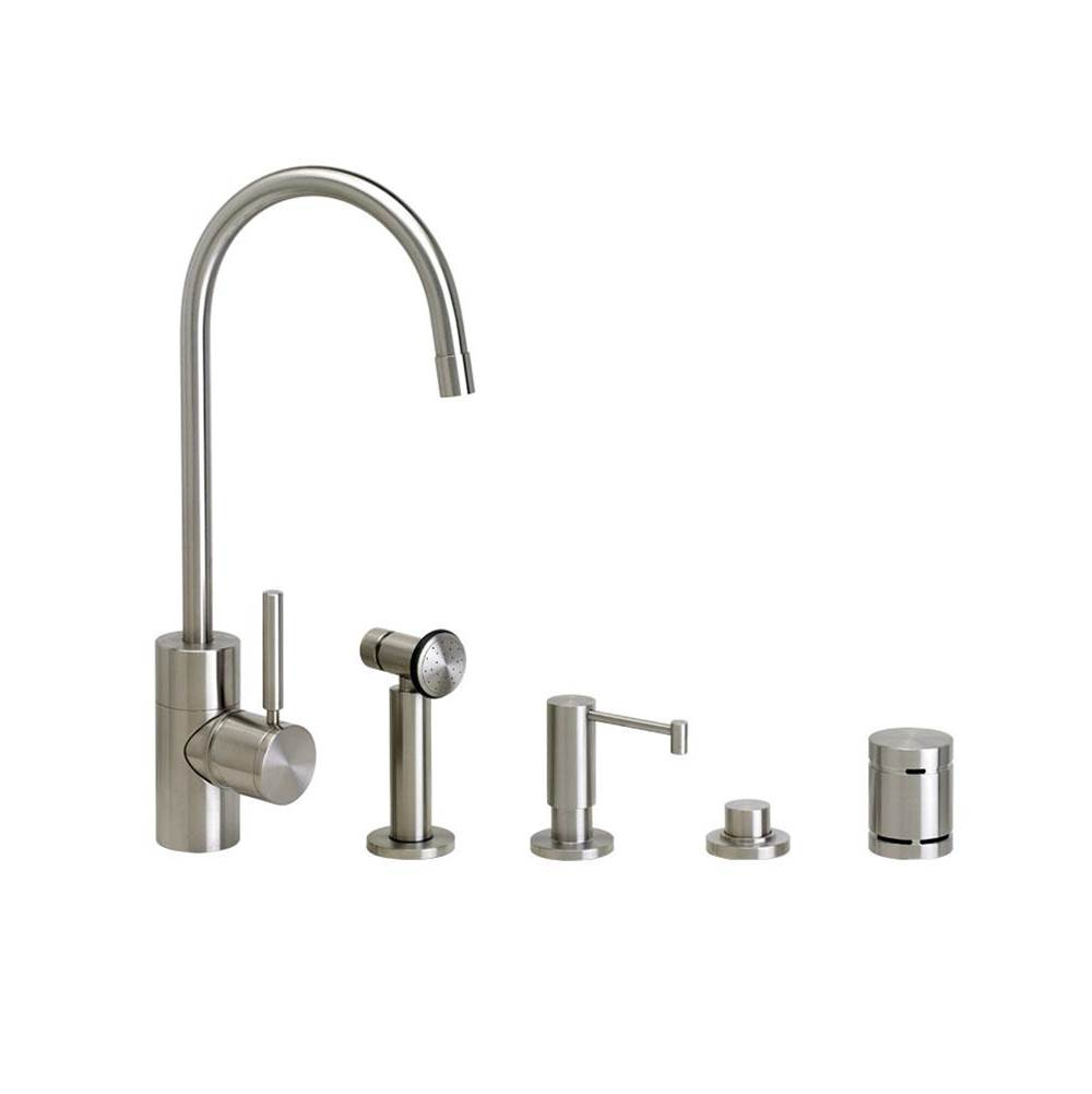 Waterstone Single Hole Kitchen Faucets item 3900-4-PC