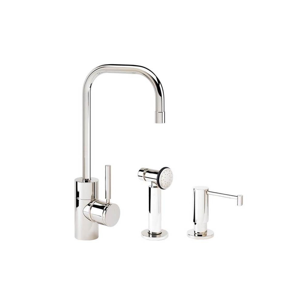 Waterstone Single Hole Kitchen Faucets item 3925-2-MB