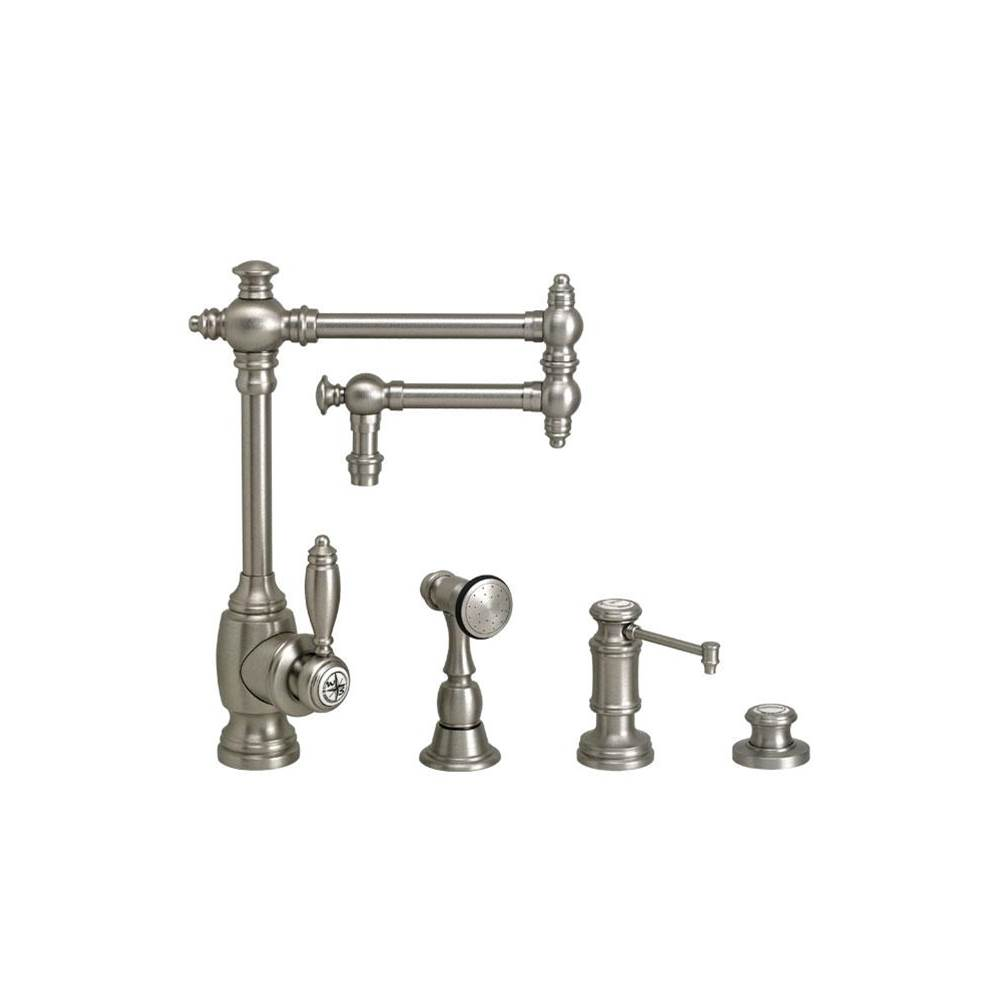 Waterstone Single Hole Kitchen Faucets item 4100-12-3-WB
