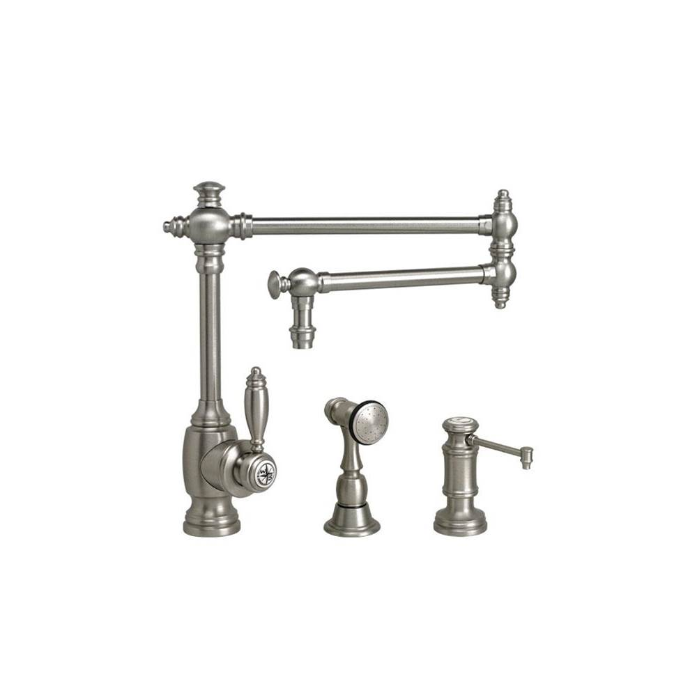 Waterstone Single Hole Kitchen Faucets item 4100-18-2-DAP