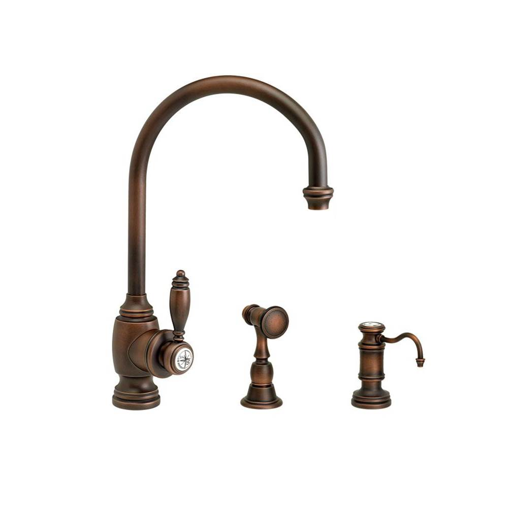Waterstone Single Hole Kitchen Faucets item 4300-2-AP