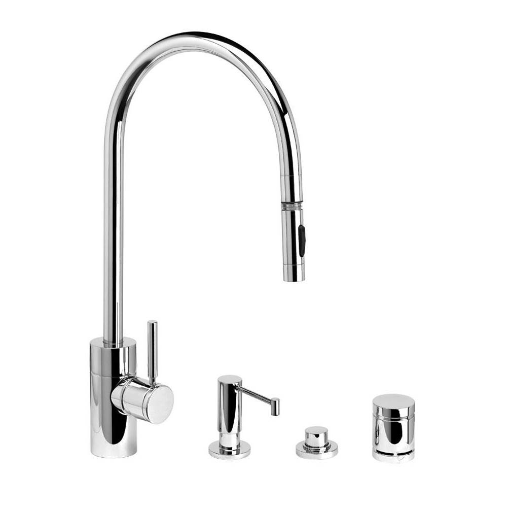 Waterstone Deck Mount Kitchen Faucets item 5300-4-CB