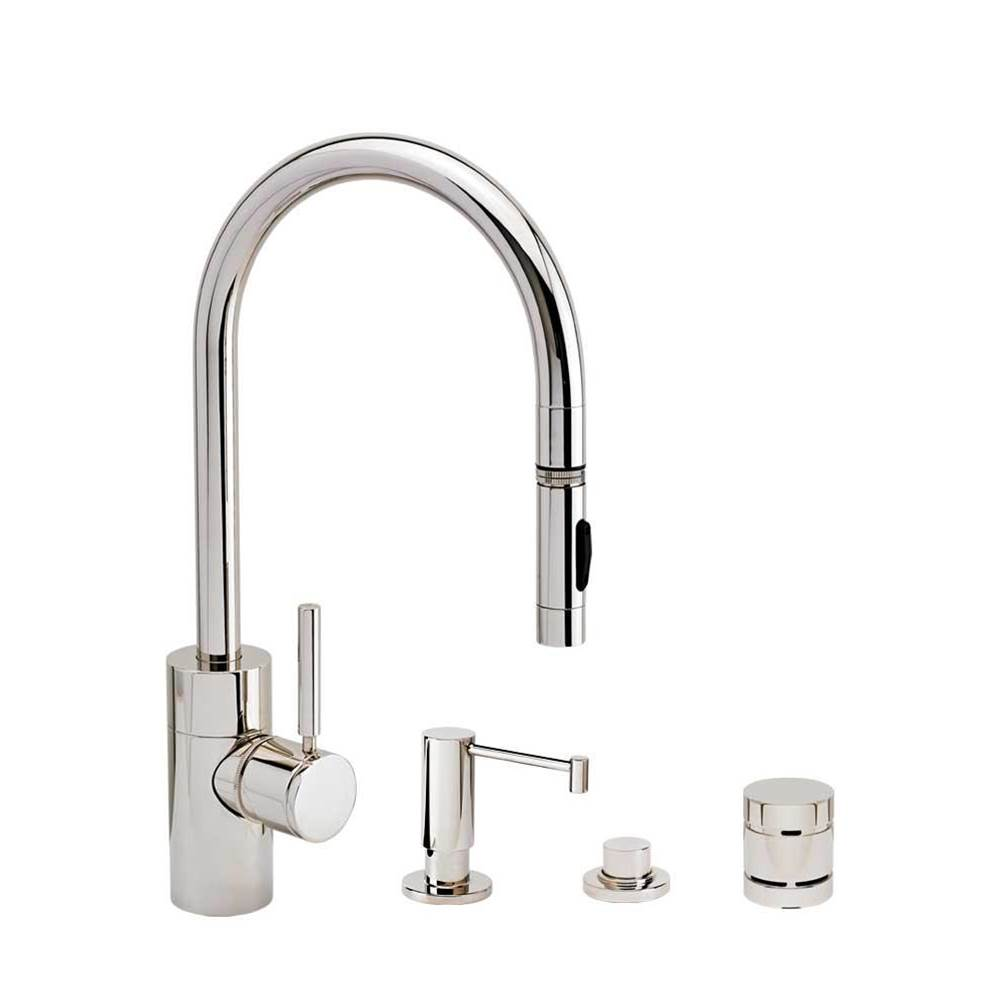 Waterstone Deck Mount Kitchen Faucets item 5400-4-PC