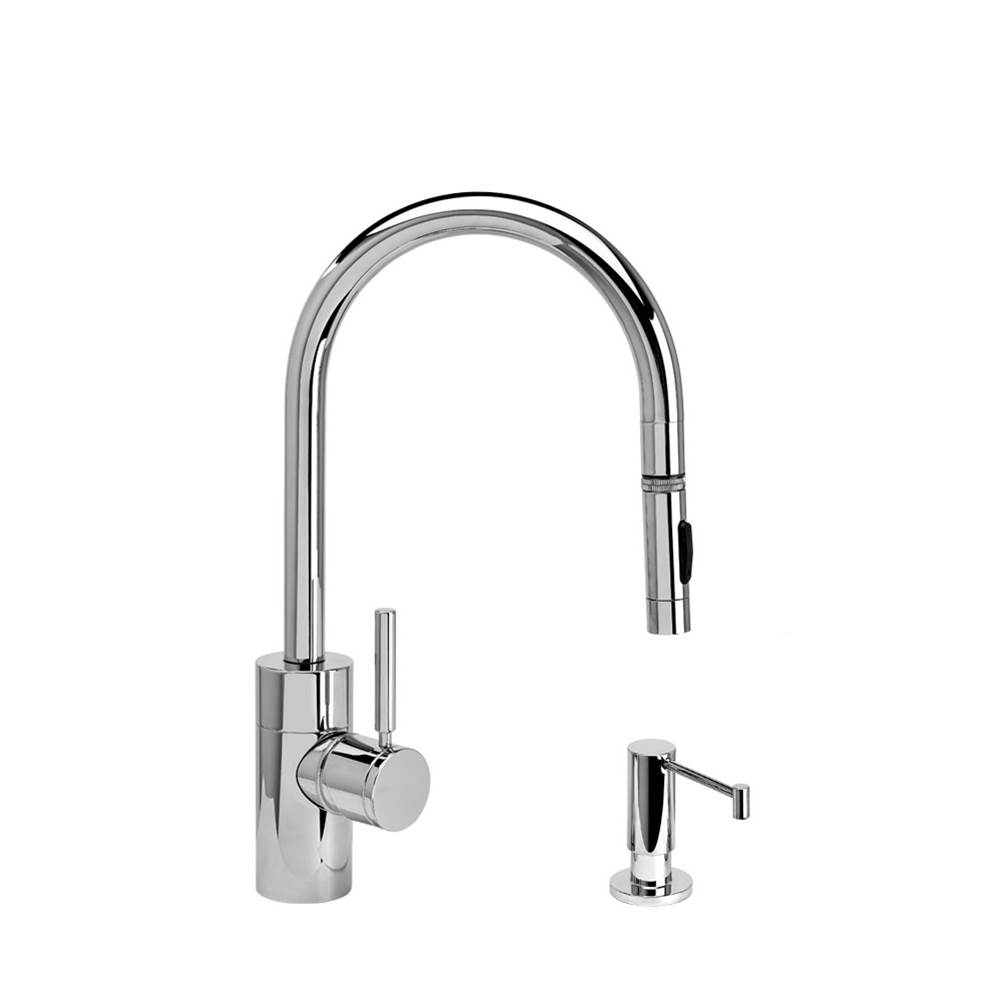 Waterstone Pull Down Faucet Kitchen Faucets item 5410-2-SB